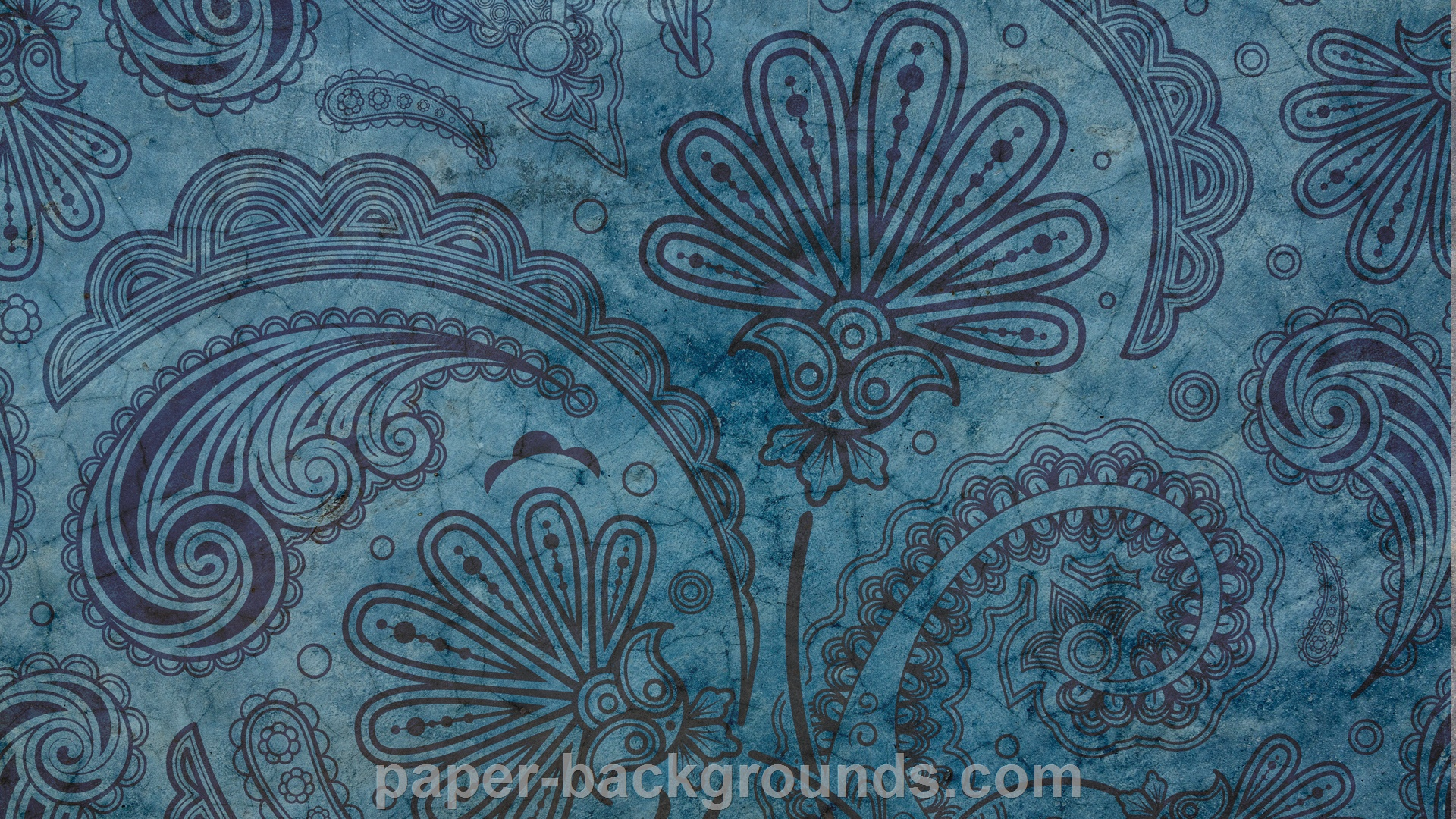 Vintage Indigo Pattern Background HD
