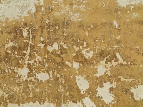Yellow Old Vintage Wall Texture Background
