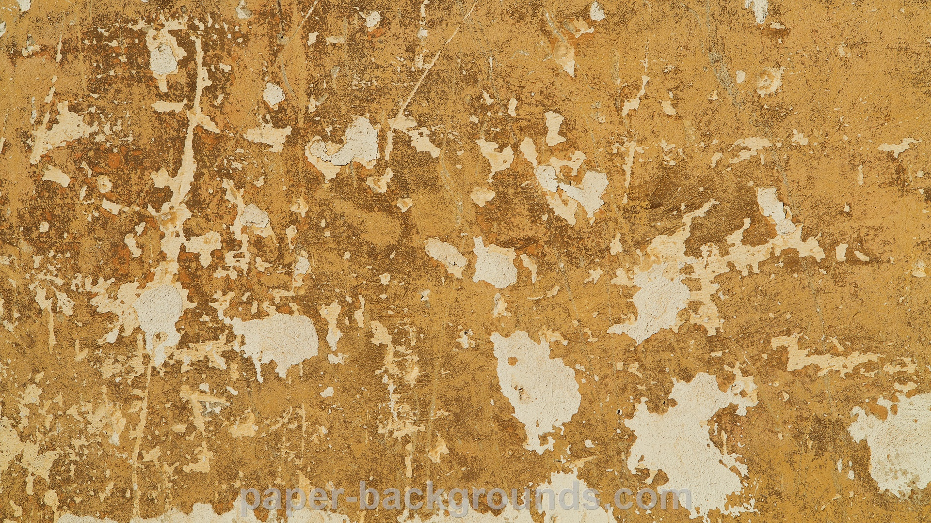 Yellow Old Vintage Wall Texture Background HD