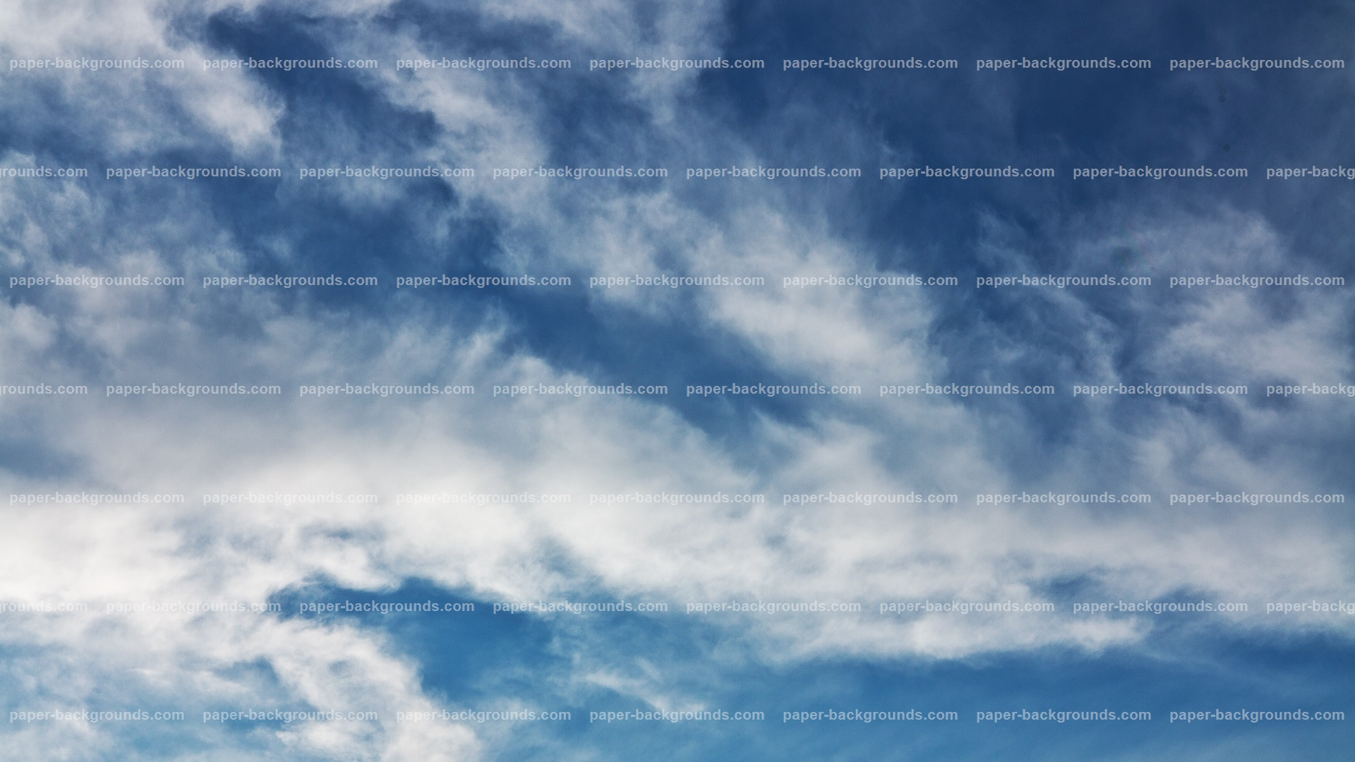 Blue Clouds Sky Backgroud HD