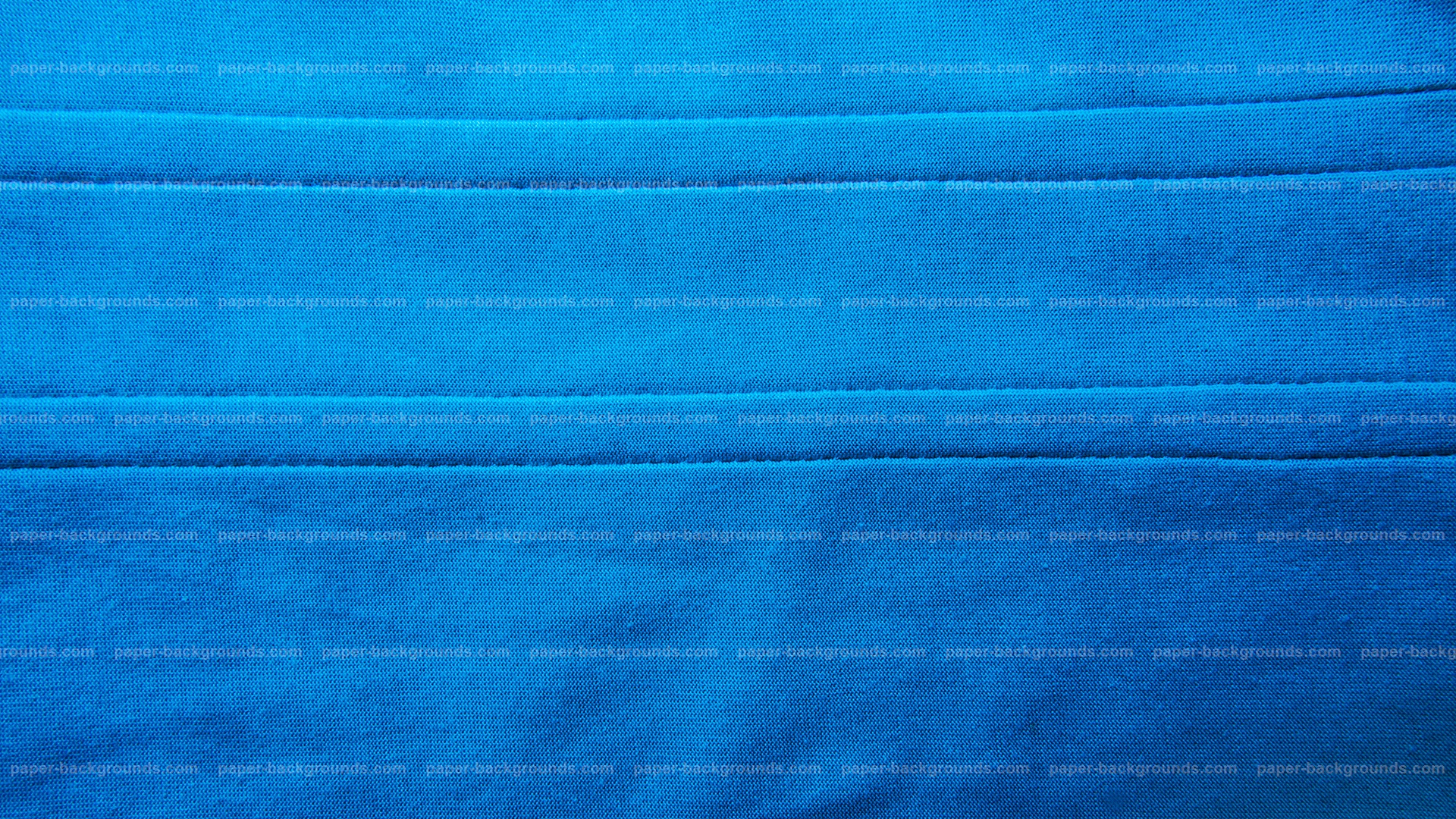 Blue Fabric Texture with Double Stitch HD