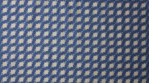 Blue White Vintage Fabric Texture Pattern HD