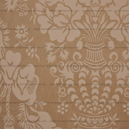 Brown Carpet with Vintage Pattern HD