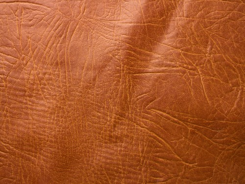 Brown Embossed Leather Texture