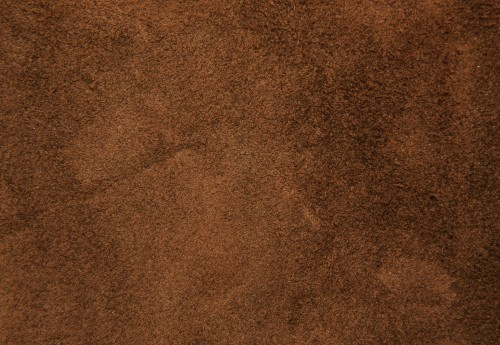 Brown Soft Fluffy Leather Background Texture
