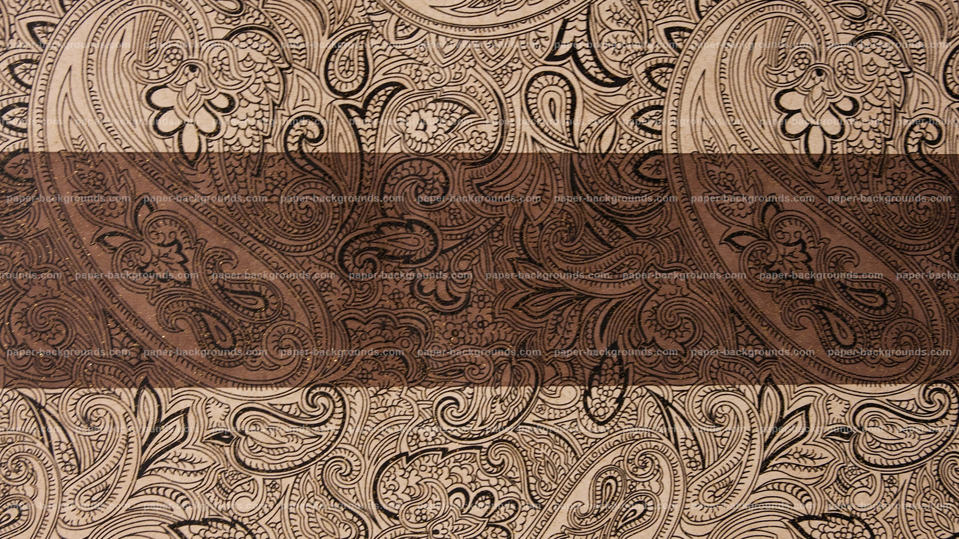 Brown Vintage Wall Pattern HD