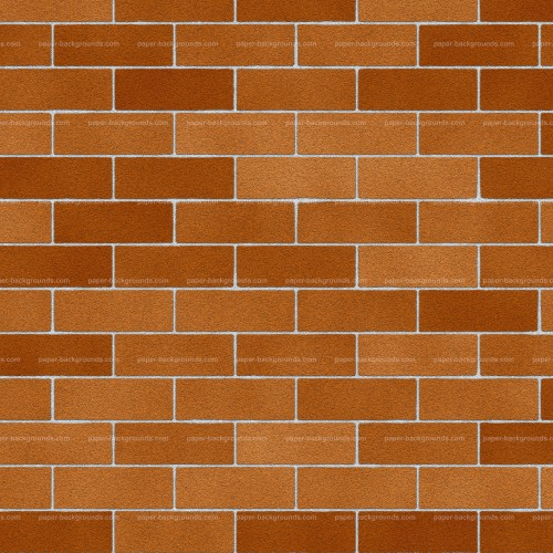 Clean Red Brick Wall Texture Background High Resolution