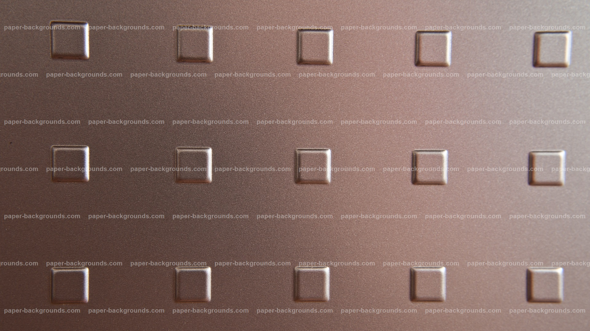 Embossed Squares Copper Metal Plate HD