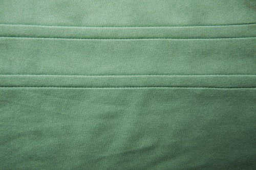 Green Fabric Canvas Texture with Stitches