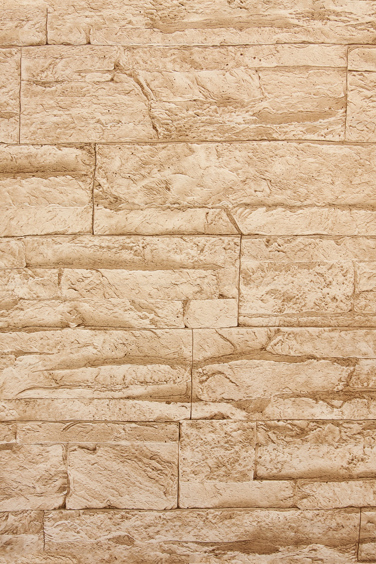Light Brown Stone Wall Texture HD