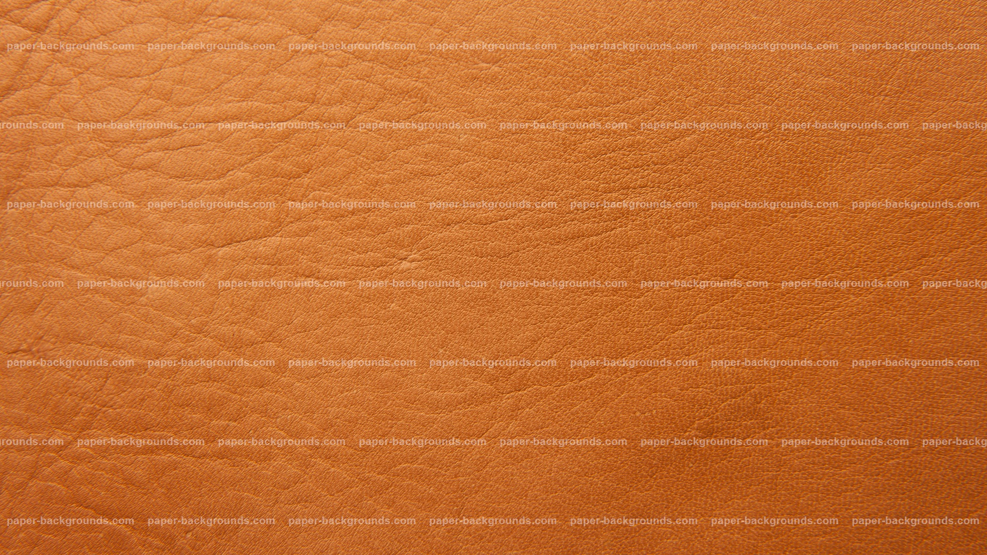 Orange Leather Texture Background HD