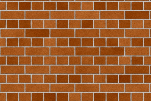 Orange Red Brick Wall Texture Background High Resolution