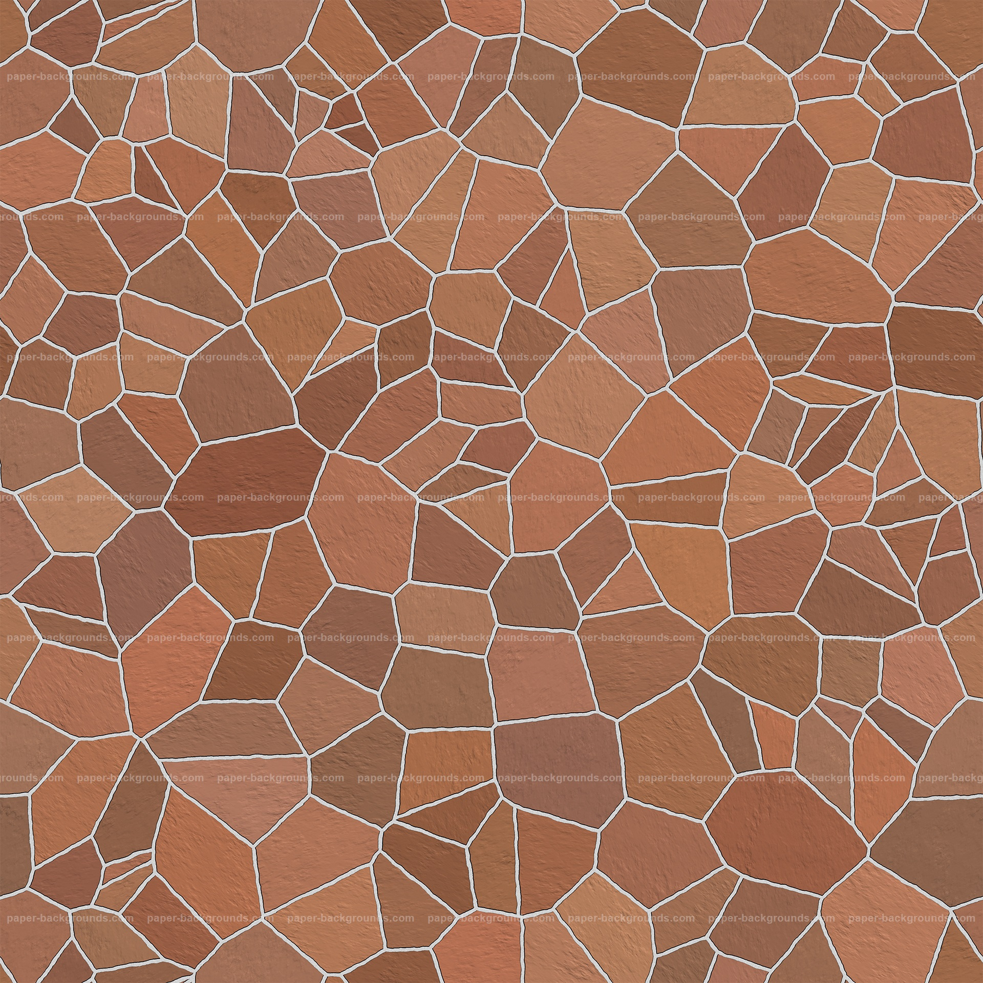 Seamless Colored Brown Stone Wall Texture HD