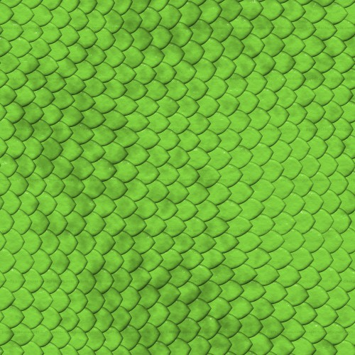 Seamless Green Snake Reptile Skin Texture High Resolution