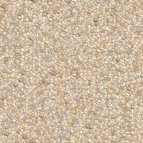 Seamless Pale Stones Gravel Texture High Resolution