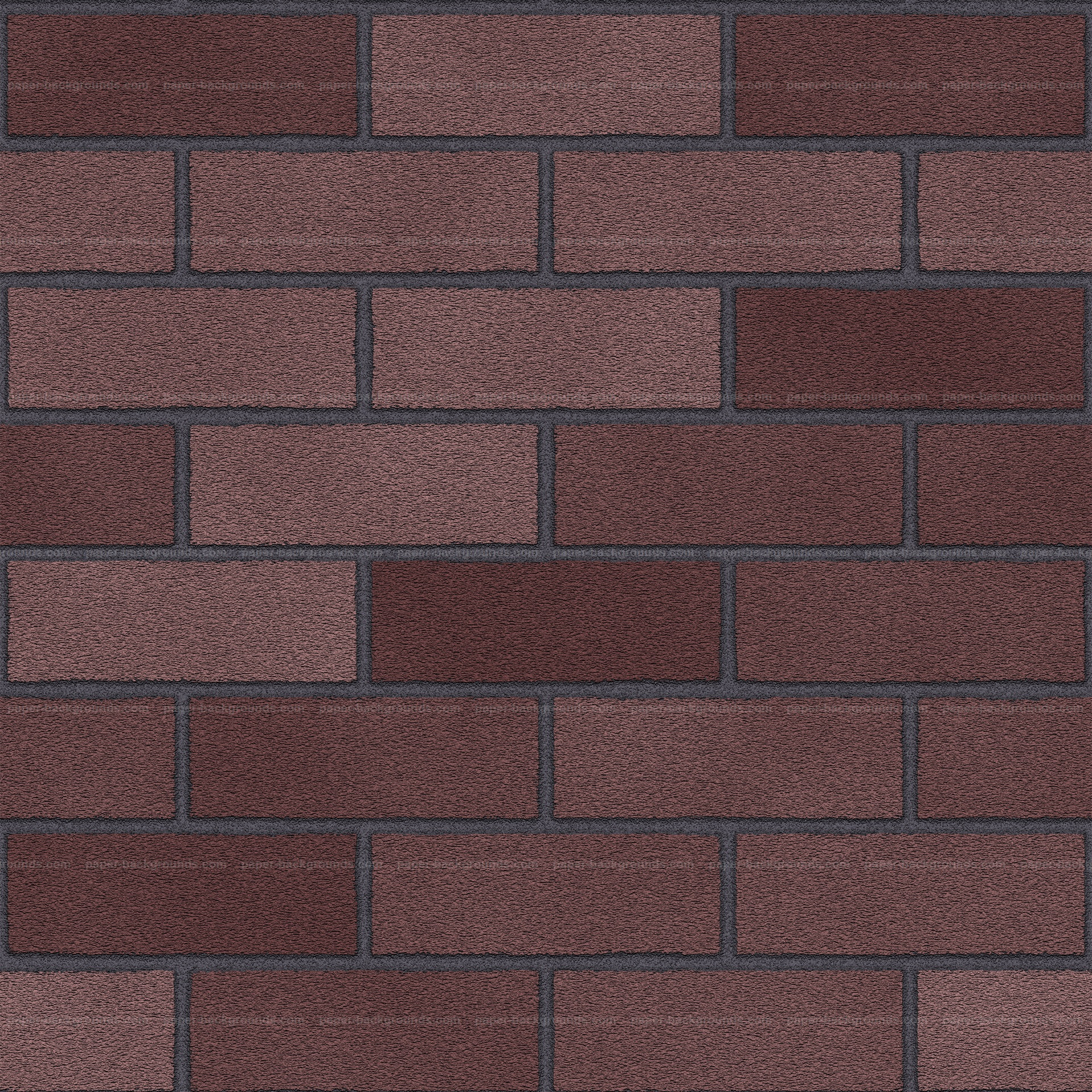 Seamless Plum Brick Wall Texture Background HD