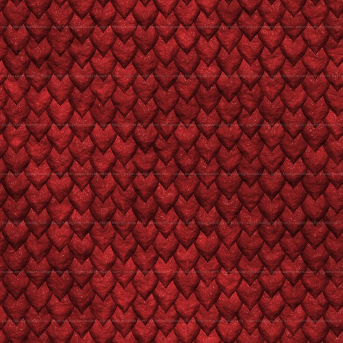 Seamless Red Dragon Reptile Skin Texture High Resolution