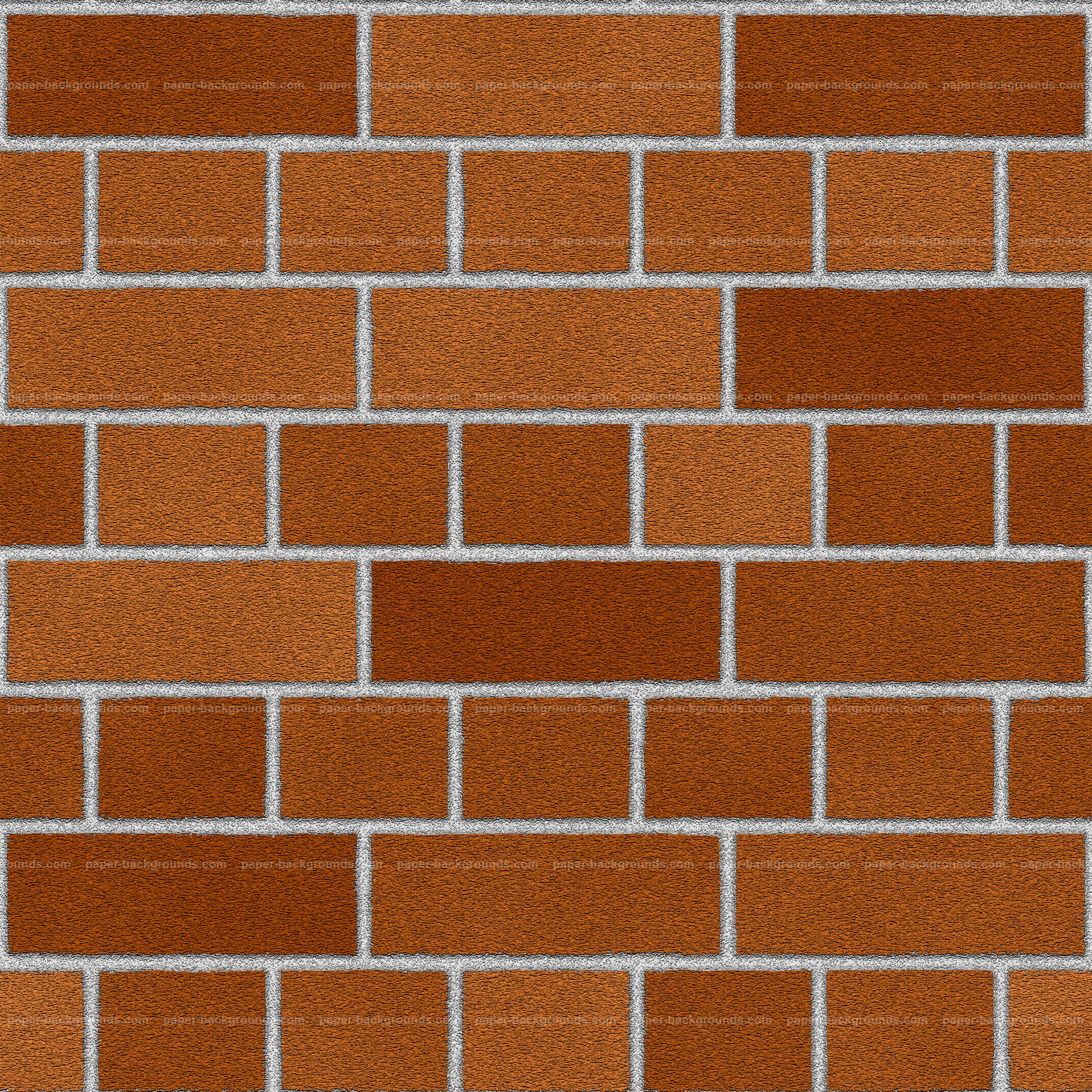 Seamless Red Orange English Brick Wall Texture For 3D HD