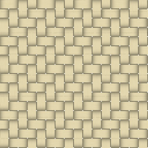 Seamless Yellow Basket Twill Texture High Resolution
