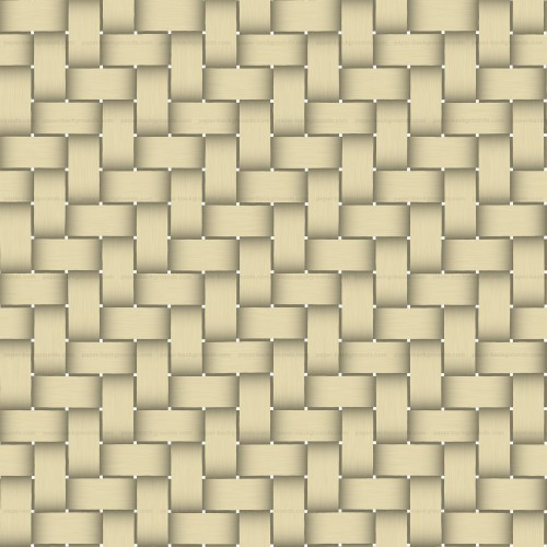 Seamless Yellow Basket Twill Texture HD