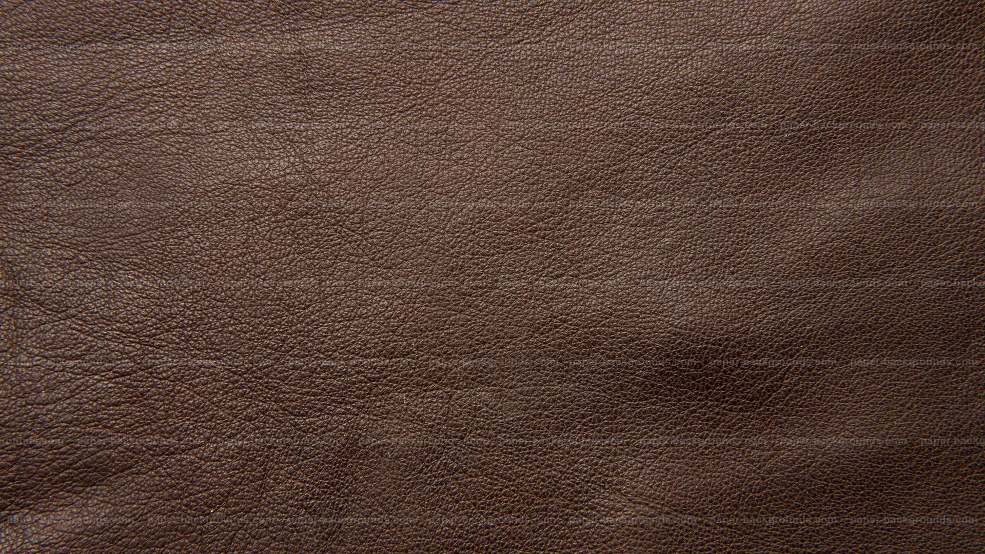 Shiny Dark Brown Leather Texture
