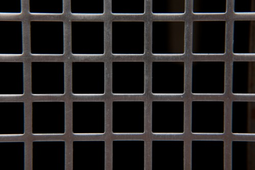 Square Metal Grid Background High Resolution