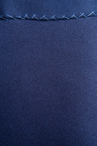 Stitched Blue Fabric Texture Background High Resolution