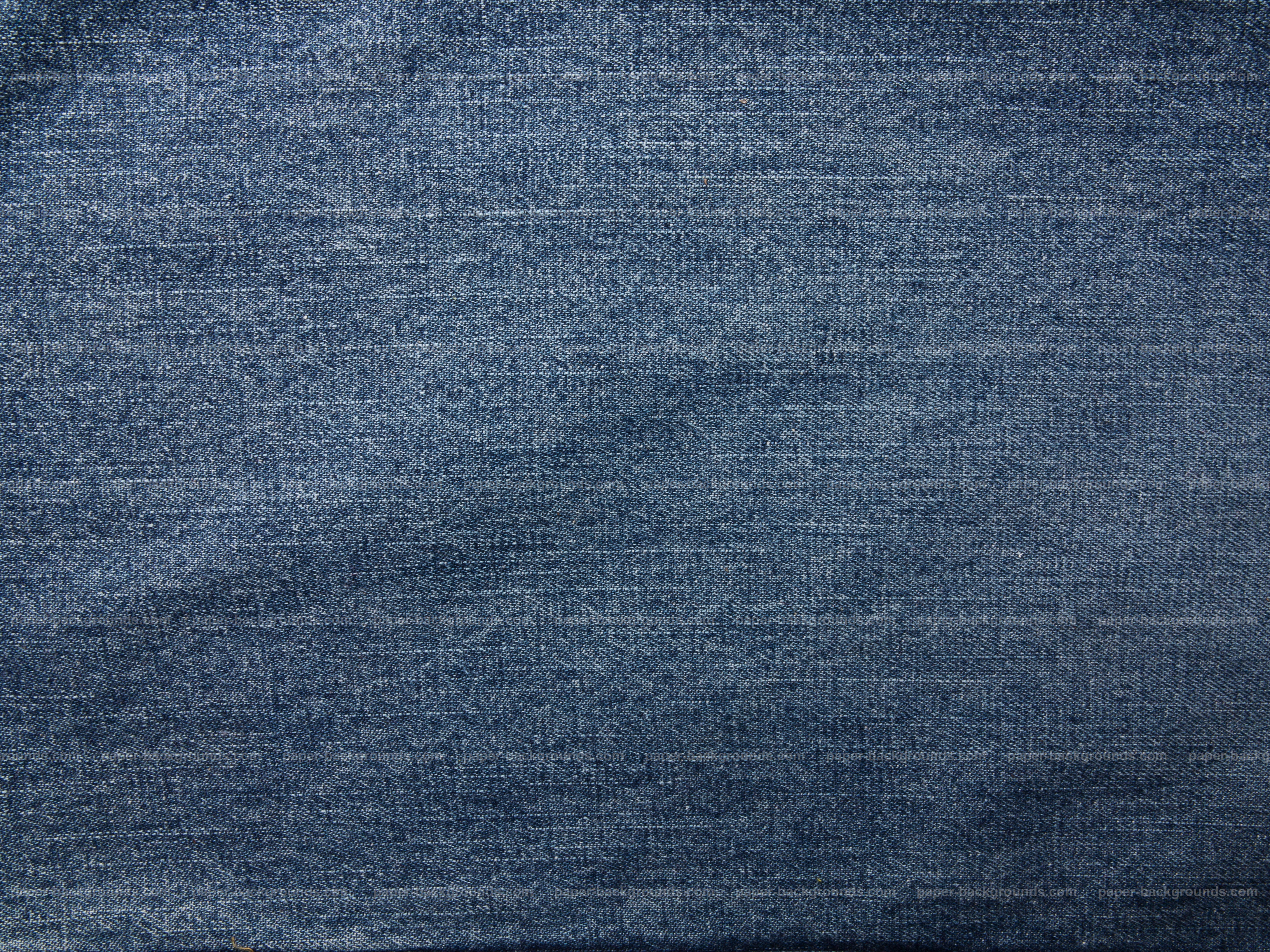 Paper Backgrounds | Vintage Blue Jeans Fabric Texture Background High Resolution