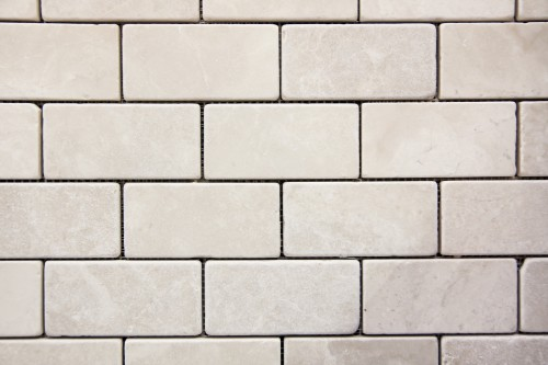 White Marble Brick Wall Texture High Resolution