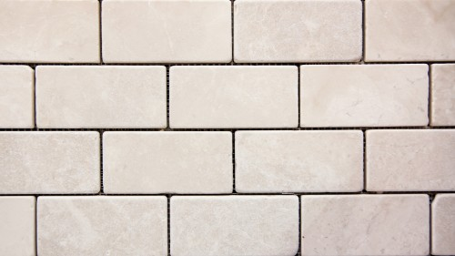 White Marble Brick Wall Texture HD