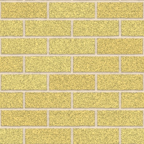 Yellow Seamless Dijon Brick Wall Texture HD