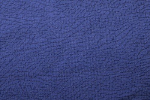 Blue Fabric Texture with Abstract Pattern