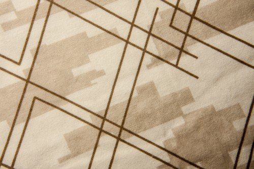 Brown White Fabric Design Texture