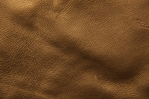 Golden Leather Texture Background High Resolution
