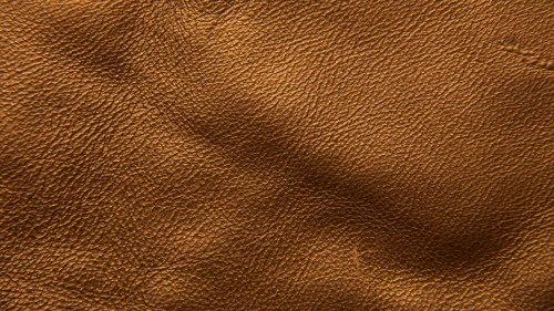 Golden Leather Texture Background HD