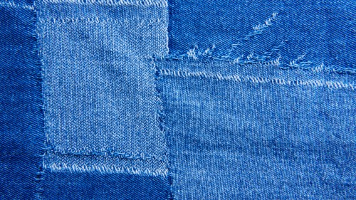 Patched Blue Jeans Texture HD
