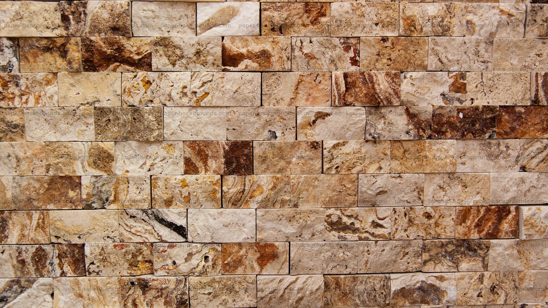 Rough Marble Brick Wall Texture HD