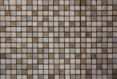 Small Square Marble Mosaic Background