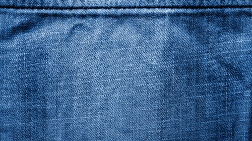 Blue Jeans Texture with Stitch HD