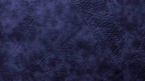 Blue Stitched Leather Patches Background HD