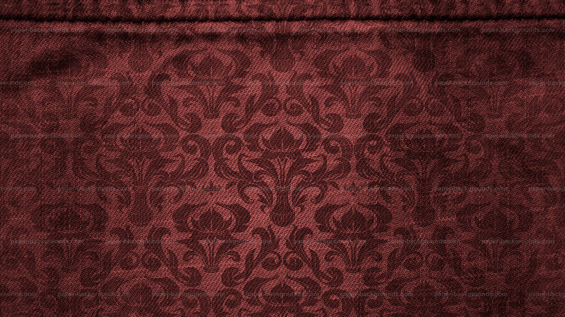 Brown Canvas with Damask Pattern Background HD