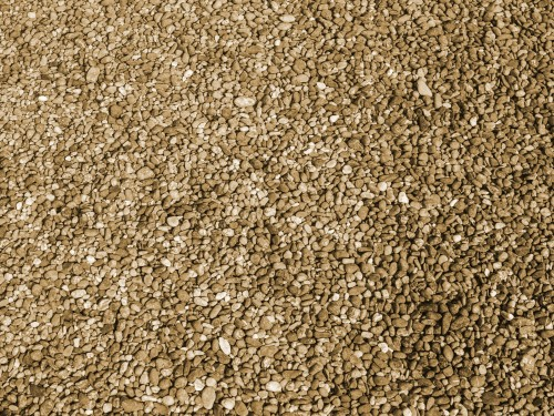 Brown Gravel Stones Texture