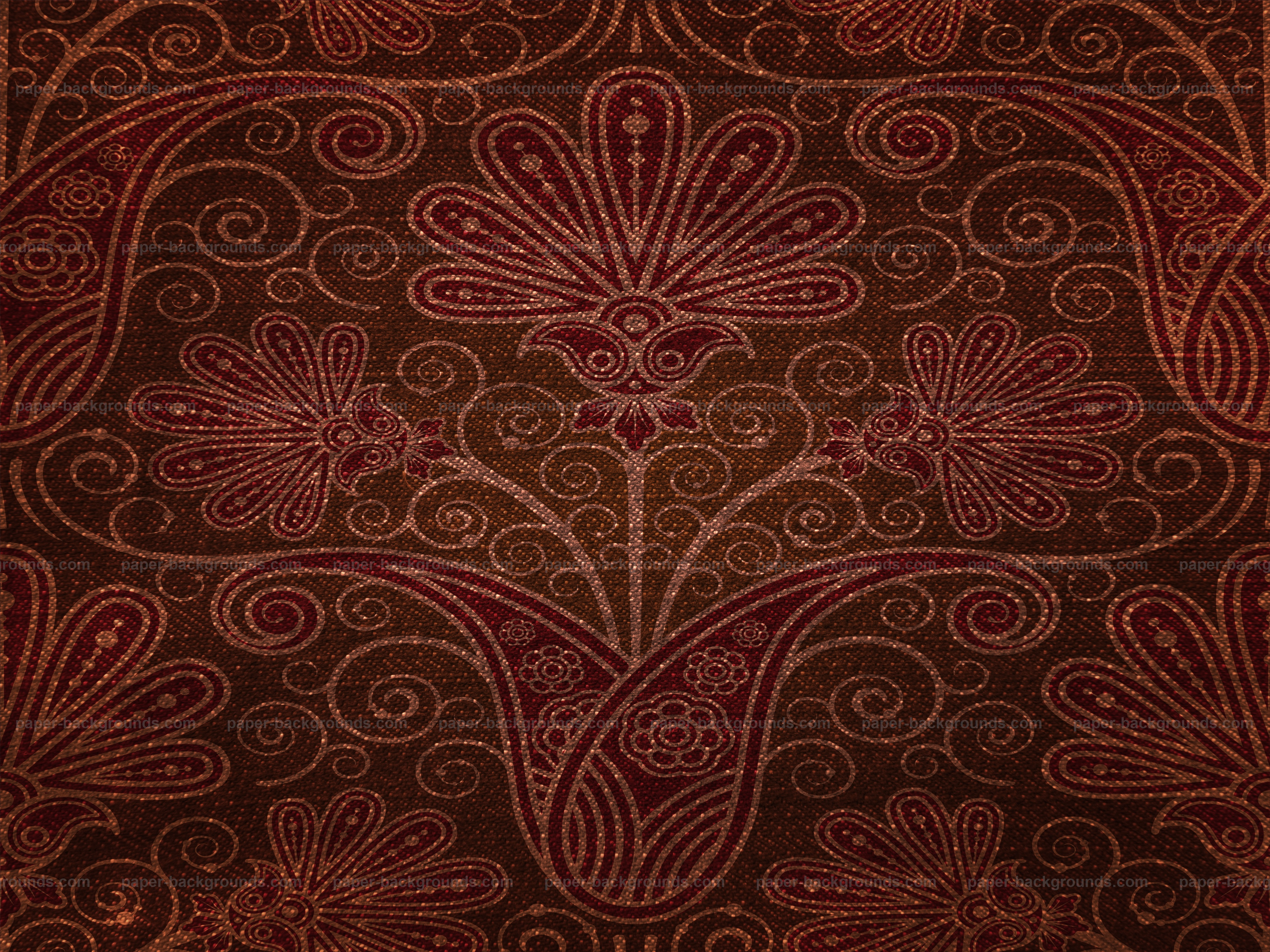 Brown Vintage Pattern Backdrop Texture