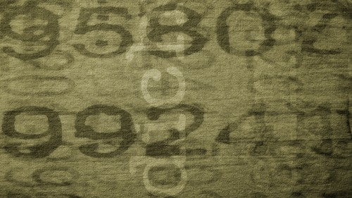 Camouflage Fabric Background with Text HD