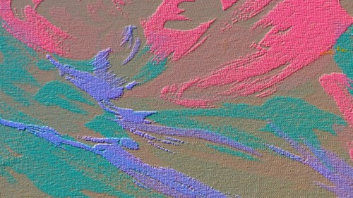 Canvas Texture with Abstract Design HD