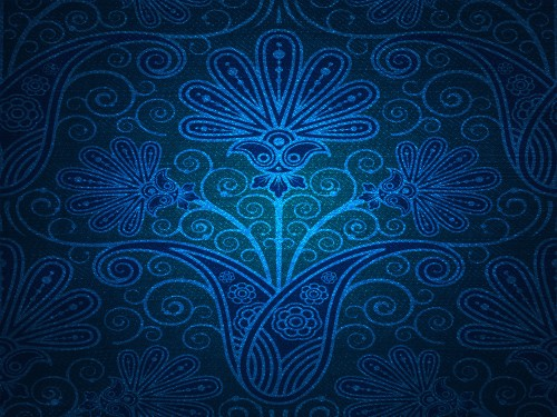 Damask Blue Backdrop Background Texture