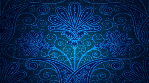 Damask Blue Backdrop Background Texture HD