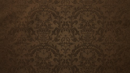 Damask Floral Pattern Canvas Background Hd