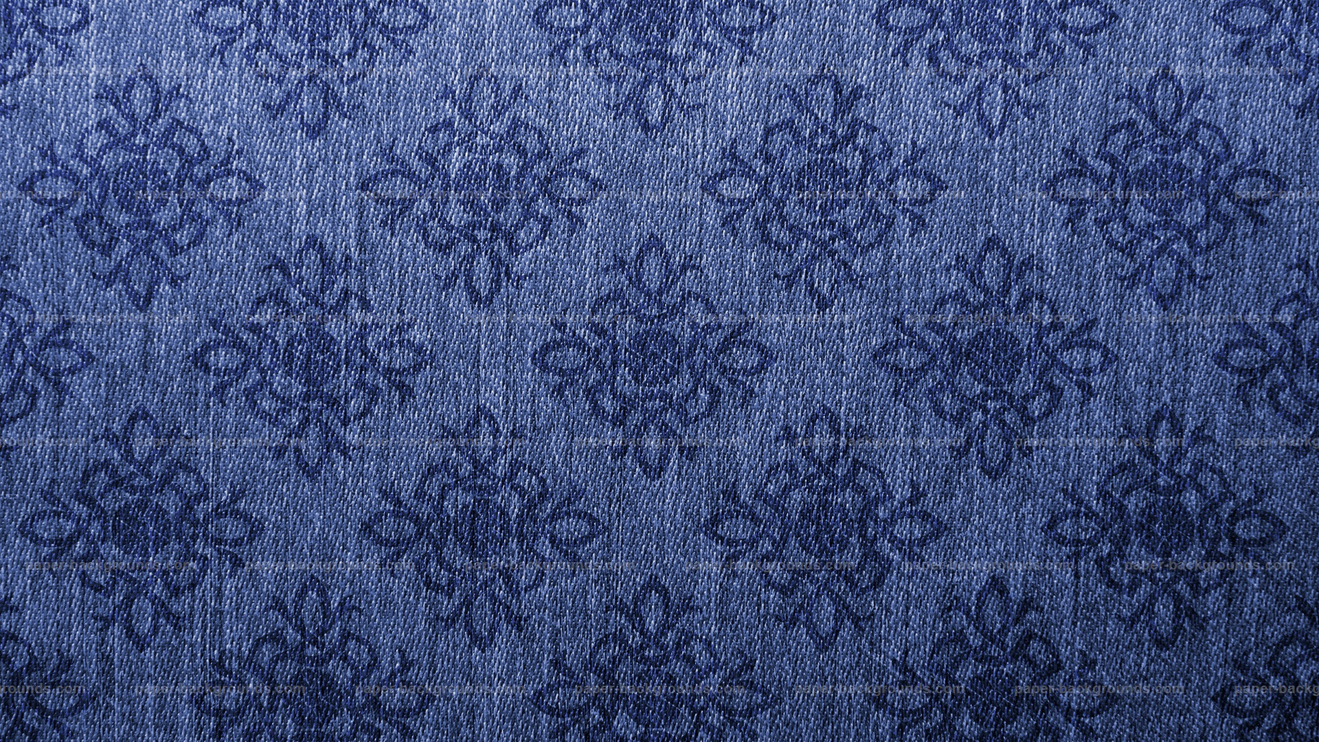 Damask Vintage Blue Canvas Texture Background HD
