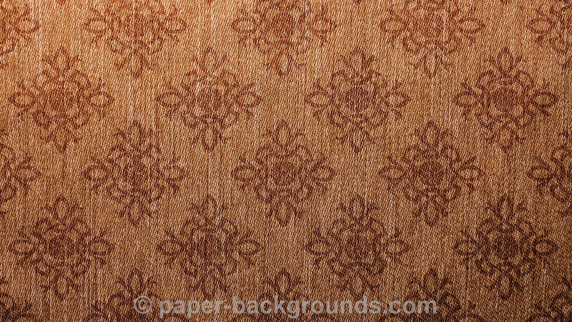Damask Vintage Brown Canvas Texture Background HD